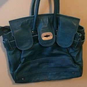 Beautiful teal Liebeskind Berlin handbag